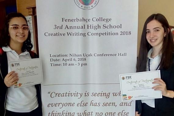 Liseler Arası Yaratıcı Hikaye Yazma Yarışması