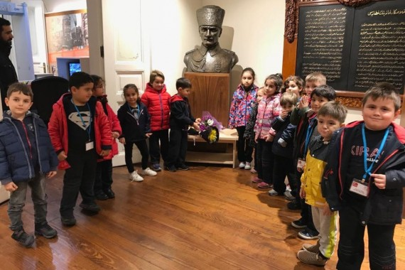 Şişli Atatürk Evi'ne ziyaret